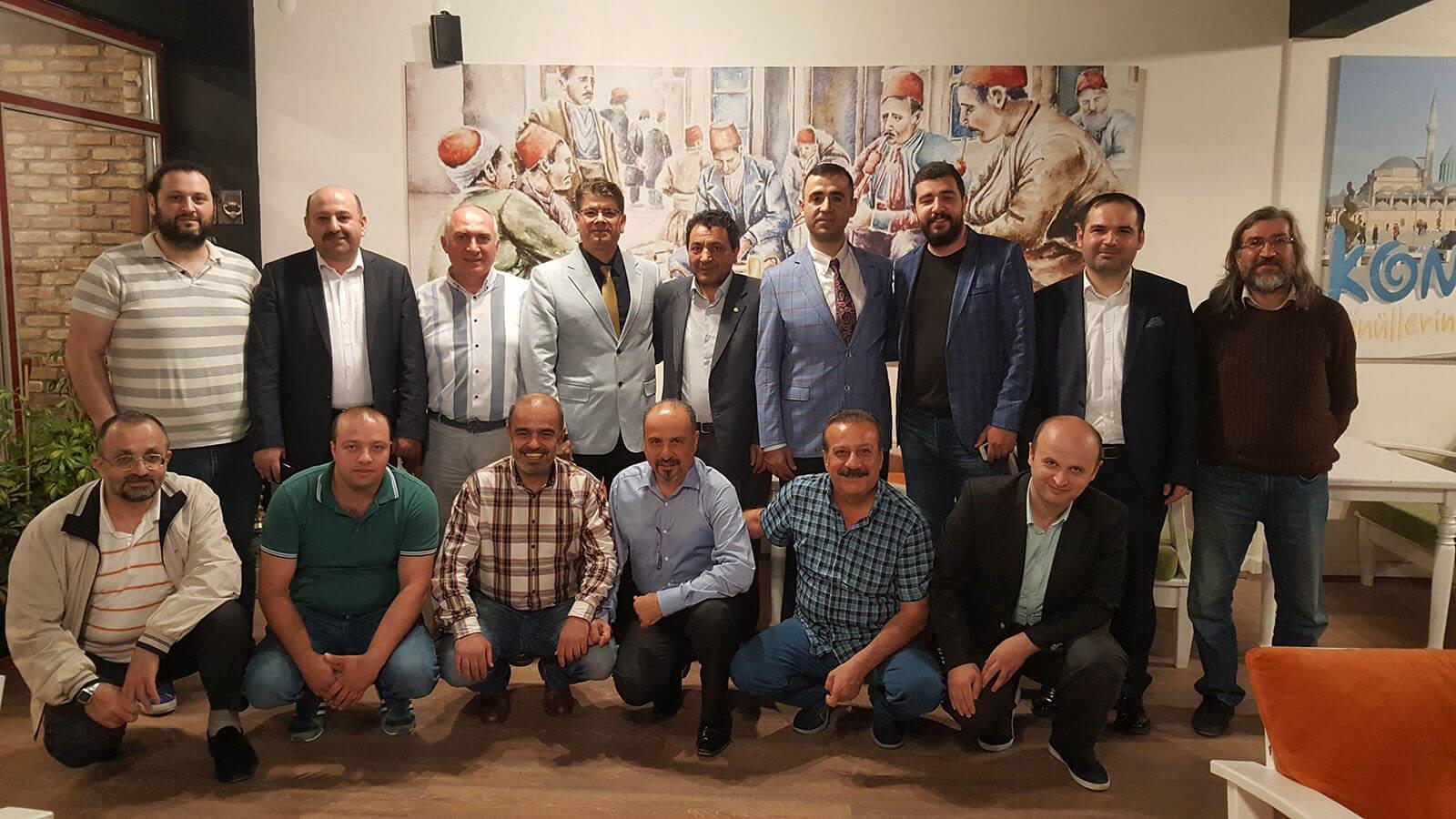 Bilişim Sektörü Dernekleri, TÜBİFED Konya organizasyonunda buluştu.