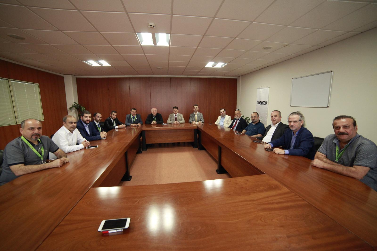 Bilişim Sektörü Dernekleri, TÜBİFED ISAF'ta buluştu.